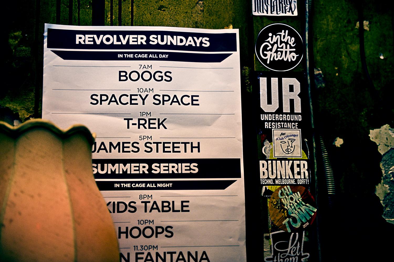 Revolver DJ roster
